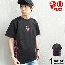 ネスタブランド NESTA BRAND Tシャツ 半袖 メンズ DRY サイドロゴ クルー Tシャツ (nesta brand tシャツ トップス ネスタ 吸水 速乾 212NB1018) 【あす楽対応】 【メール便対応】