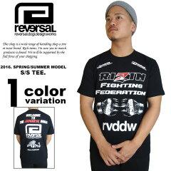 【リバーサル tシャツ】 reversal tシャツ REVERSAL RIZIN × rev…