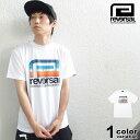 リバーサル REVERSAL Tシャツ 半袖 RETRO FUTURE BIG MARK DRY TEE (reversal tシャツ ドライ トップス ブラック トレーニング RV19AW038 ストリート)