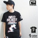 リバーサル reversal Tシャツ 半袖 NEO BEAST TEE 竿本樹生 モデル (reversal tシャツ ブラック 格闘技 T653 ストリート)【あす楽対応】 【メール便対応】
