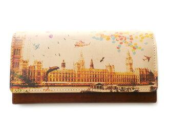 장 지갑 ◆ アートヌメレザー 노이 시 런던