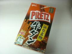 【東北限定】 ジャイアントプリッツ 牛タン仙台の味2本×16袋入