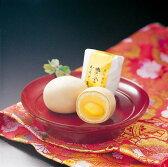 【完全限定品】 黄金かもめの玉子6個入り 外側の生地に金粉を使い、中には栗が丸ごと一個【通常便・冷蔵便】