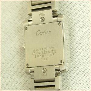 CARTIERカルティエタンクフランセーズSMRef:W51028Q3ピンクシェル時計ABランク【】
