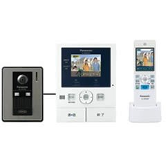 TV door phone with the Panasonic VL-SWD301KL wireless monitor
