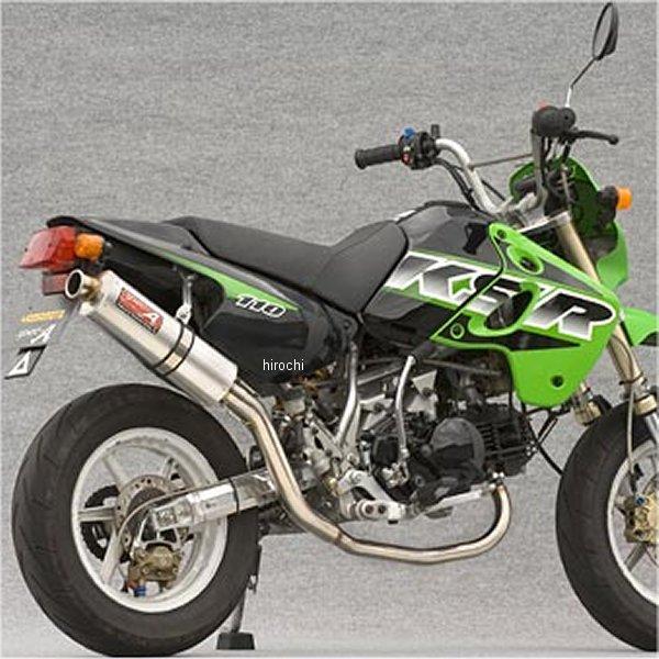【在庫処分】 ヤマモトレーシング フルエキゾースト 02年-09年 KSR110 KLX110 DOWN II Ver アルミ 40111-SDASJ HD, 靴の通販ダイシンシューズ c0e0f70d
