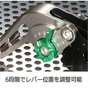 TR006-007-0207ユーカナヤU-KANAYAビレットレバーセットスタンダードタイプショート04年-06年トライアンフデイトナ955i緑