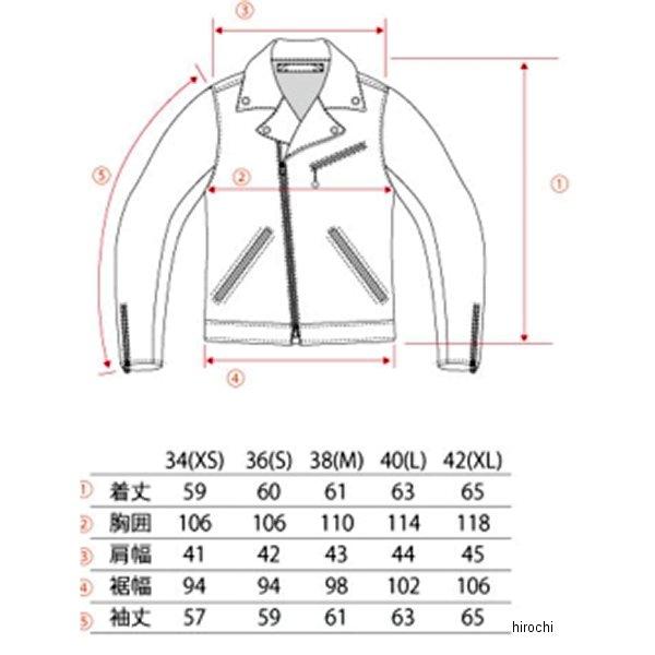 VLJ1A ヴィンアンドエイジ Vin&Age 2017年 秋冬モデル レザージャケット 黒/ゴールド 40サイズ VLJ1A-BK-GD-40 HD店