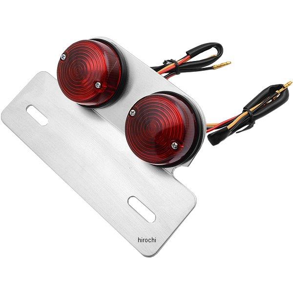 【メーカー在庫あり】 ピーエフピー PFP テールランプ丸型ツインテール2灯式 汎用 赤 10647004 HD店