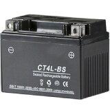 【即納】 NBS バイクパーツセンター 液入り充電済バッテリー CT4L-BS 100301 HD店