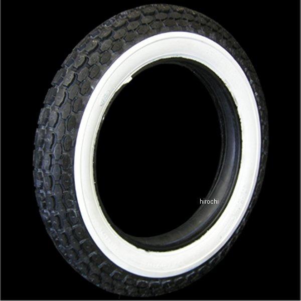【メーカー在庫あり】 コッカータイヤ COKER TIRE ベック 4.50-18タイヤ 2inホワイトウォール 71385 HD店画像