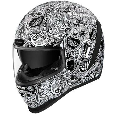 アイコン ICON 2020年秋冬モデル フルフェイスヘルメット AIRFORM CHANTILLY 白 Mサイズ 0101-13415 HD店
