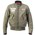 イエローコーンYeLLOWCORN2020年秋冬モデルウィンタージャケットカーキ3LWサイズYB-0302HD店