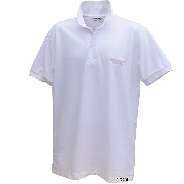 51609388 ブリヂストン BRIDGESTONE ポロシャツ II レーシング 白 LLサイズ 5160 9388 HD店