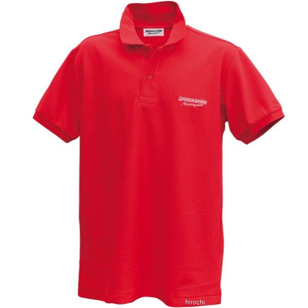 51609392 ブリヂストン BRIDGESTONE ポロシャツ II レーシング 赤 Mサイズ 5160 9392 HD店