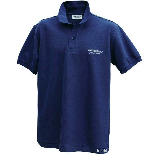 51609395 ブリヂストン BRIDGESTONE ポロシャツ II レーシング ネイビー Mサイズ 5160 9395 HD店