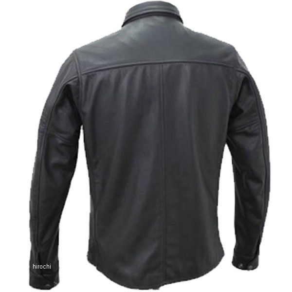 1162 カドヤ KADOYA レザーシャツ 黒 Lサイズ 1162-0/BKL HD店