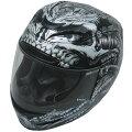 0101-7093アイコン(ICON)ヘルメットAIRMADABIOSKULLTクロームXLサイズ