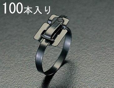 エスコ ESCO 9.5x457mm 結束バンド(SSナイロンコート/100本) 000012061625 HD