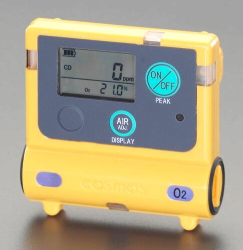 EA733CA-1 エスコ ESCO 65x14x50mm/65g 酸素濃度計