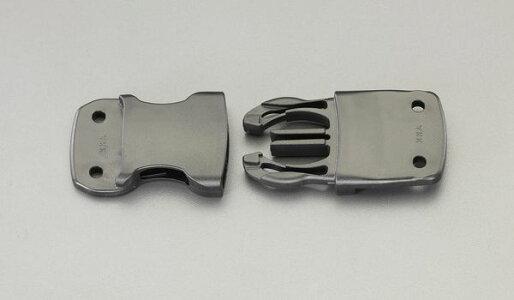 【メーカー在庫あり】EA628RG-125エスコESCO25mmリベット式バックル(プラスチック製・2個)