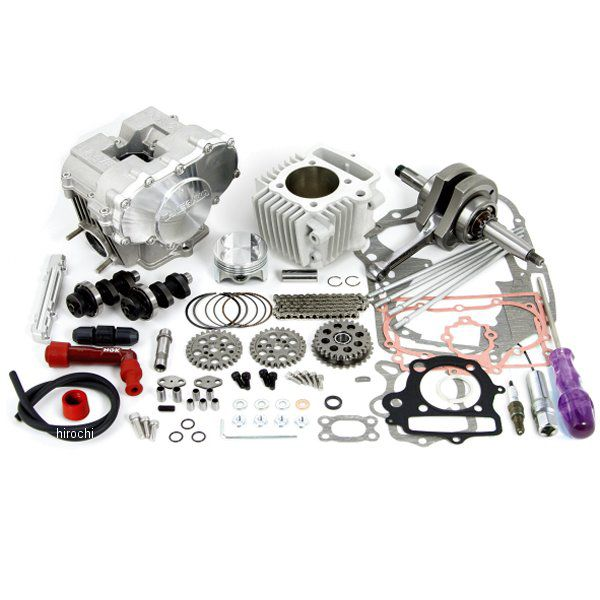 01-06-6041 SP武川 DOHC ボア&ストロークアップキット 124cc 2点支持クランク