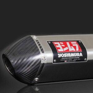 110-401-5N50ヨシムラTRI-CONEサイクロンカーボンエンドフルエキゾースト7