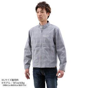94178NHB1607デイトナヘンリービギンズカフェスタイルジャケットグレンチェックXLサイズ