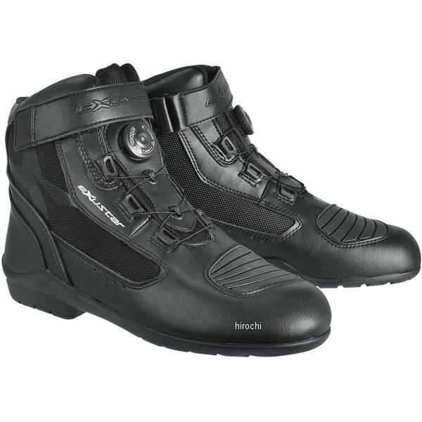 【メーカー在庫あり】 E-SBT271W エグザスター EXUSTAR ツーリングブーツ 黒 #45 28.0cm