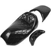 【メーカー在庫あり】 303423 NBS バイクパーツセンター エナメルシート ベース付 マジェスティC (SG03J) 黒