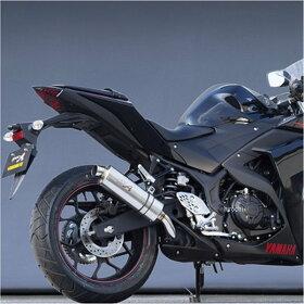 20254-01NONヤマモトレーシングスリップオンマフラーヤマハ14年YZF-R25スペックAオーバル