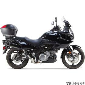 005-480408DM-BツーブラザーズレーシングスリップオンマフラーブラックシリーズM-2デュアル02年-13年Vストロームチタン