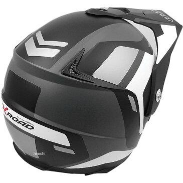 【メーカー在庫あり】 ウインズ WINS オフロードヘルメット X-ROAD FREE RIDE マットブラック/白 Mサイズ(57-58cm) 4560385765407 JP