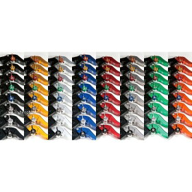 DU016-002-0803ユーカナヤU-KANAYAビレットレバーセットツーリングタイプ06年-09年ドゥカティスポーツ1000シルバー