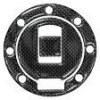 DCT32 デュラボルト DURA BOLT タンクキャップカバー 85年以降 XJR1300、YZF750、TZR250 7穴用 カーボン