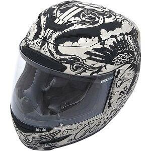 【USA在庫あり】 アイコン ICON フルフェイスヘルメット Airmada Scrawl 白 Sサイズ 0101-10068 JP店