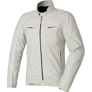ゴールドウイン GOLDWIN 2018年春夏モデル シンセティックレザースリムライダースジャケット 白/白 Lサイズ GSM12608 JP店