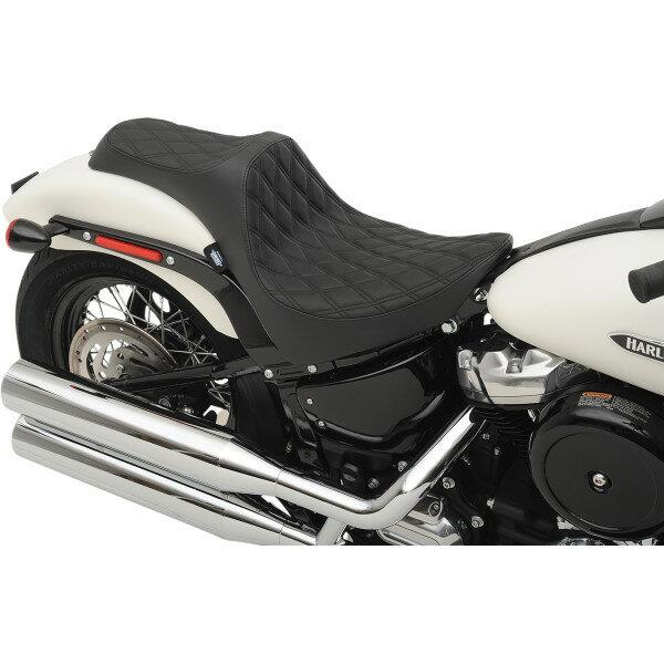 バイク用品, その他 USA DRAG Specialties SEAT PRED 111 DD BLK SOFT 0802-1145 JP