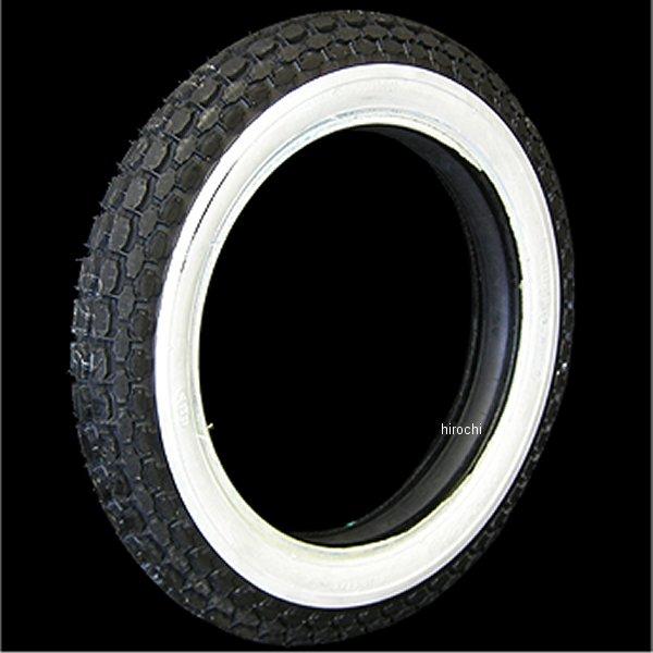 【メーカー在庫あり】 コッカータイヤ COKER TIRE ベック 4.00-18タイヤ 1-3/4inホワイトウォール 74444 JP店画像