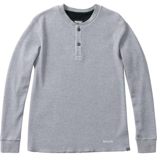 ゴールドウイン GOLDWIN 2019年秋冬モデル KDワッフルヘンリーネックシャツ グレー Mサイズ GSM24955 JP店