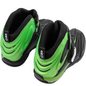 J8906-K011カワサキ×エルフシンテーゼ14カワサキグリーンシューズ緑27.0cm