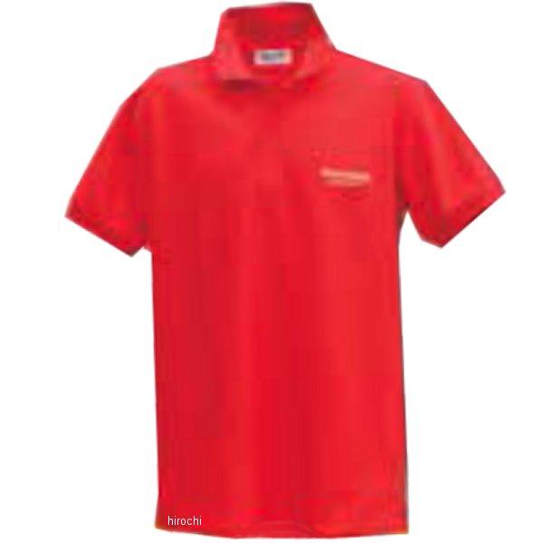 51609394 ブリヂストン BRIDGESTONE ポロシャツ II レーシング 赤 LLサイズ 5160 9394 JP店