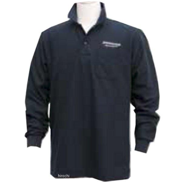 51609411 ブリヂストン BRIDGESTONE ロングスリーブ ポロシャツ II レーシング 黒 Lサイズ 5160 9411 JP店