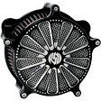 【USA在庫あり】 1010-0803 0206-2028-BM ローランドサンズデザイン RSD ベンチュリ ドミノ エアクリーナー キット コントラスト 93年以降 Twin Cam