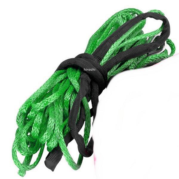 【USA在庫あり】 4505-0501 ムース MOOSE Utility Division ウインチ 合成繊維ロープ 牽引耐力 1,800Kg グリーン