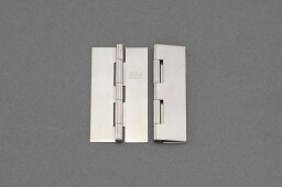 【メーカー在庫あり】 エスコ(ESCO) 32x22mm 薄口溶接丁番 ステンレス製/2個 000012259713 JP