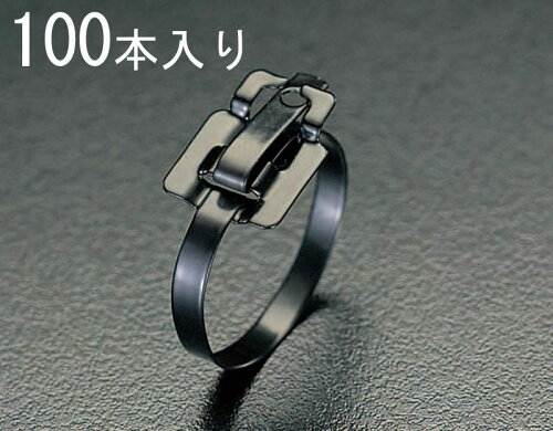 EA463FH-457 エスコ ESCO 9.5x457mm 結束バンド(SSナイロンコート/100本)