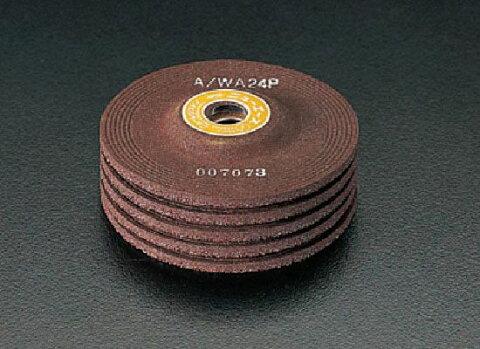 【メーカー在庫あり】 エスコ ESCO 100x4mm/WA24P オフセット型砥石 5枚 000012075005 JP店