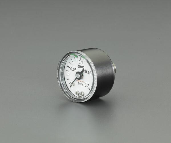 """【メーカー在庫あり】 R1/4""""/0-1.0MPa 圧力計(クリーンルーム 000012296908 JP店"""