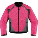 Usa在庫あり 22 0510 アイコン Icon ジャケット Anthem 女性用 ピンク Mサイズ ウエア ジャケット 二輪 パーツの通販なら Croooober クルーバー